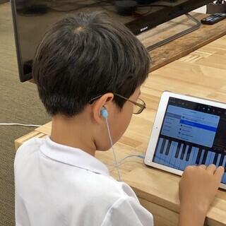 【サウンドクリエーター体験】iPadを使用して作曲に挑戦!