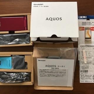 AQUOS SH-N01 レッド SIMフリー