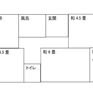 余戸平屋(北) 3DK【4.1万円】ペットOK