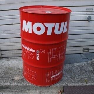 MOTUL 200Lドラム缶 空ドラム 赤◆モチュール