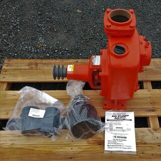 工進 自給式ポンプ(単体ポンプ)AG-80 未使用 日置市 伊集院町