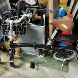 オプション付き キャプテンスタッグ 折りたたみ自転車