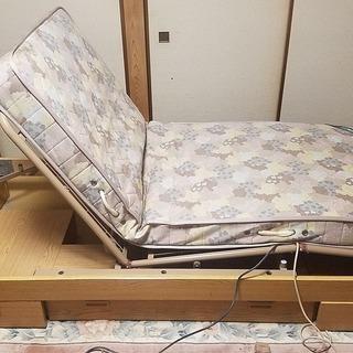 電動 介護支援ベッド(フランスベッド)