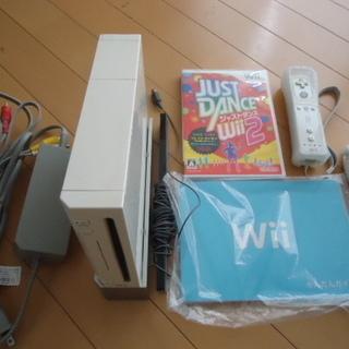 Wii 本体 付属品一式 説明書、ソフト すぐに使える、遊べるセ...