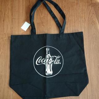 コカ・コーラマークのトートバッグ