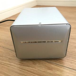 カシムラ 海外国内用型変圧器 220-240V/1500VA N...