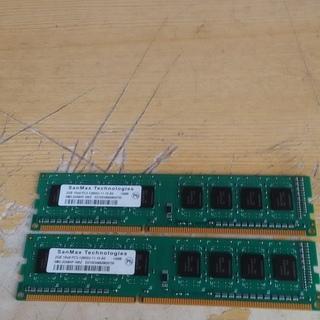 (交渉中)デスクトップメモリ PC3-12800U 2GB 2枚セット