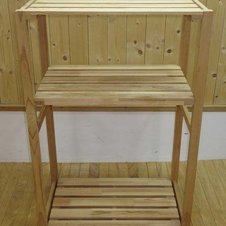 jt0038 ウッドラック 二段 収納 ラック 木製 2段 棚