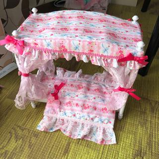 りかちゃん姫家具ベット