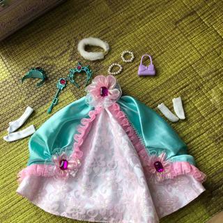 りかちゃんのプリンセスドレス