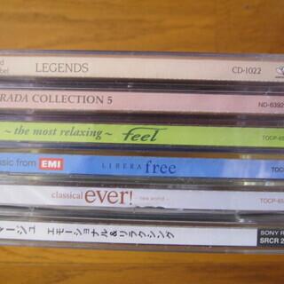 ヒーリングミュージックCD7枚
