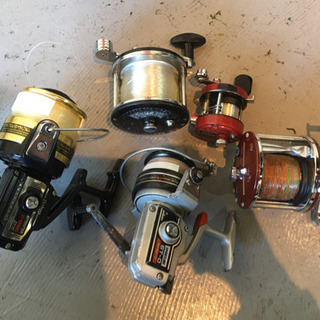 釣具 リール 5個セット