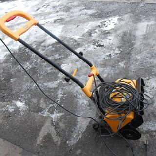 ※快適に動作します!☆家庭用 電動除雪機 スノーパワー 20mコ...