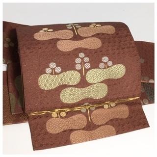 袋帯 極上 逸品 正絹 袋 二重太鼓 作り帯 二部式 簡単装着...