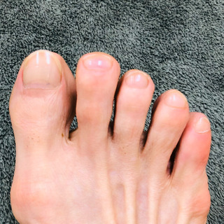 ジモティー限定、隠しメニュー「足爪シャイニング」【完全予約…