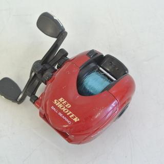 釣り具 ベイトリール SHINA RED SHOOTER …
