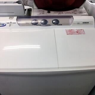 日立8.0K二層洗濯機2017年製分解クリーニング済み!!!