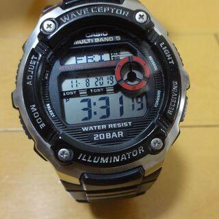カシオ CASIO 腕時計 スポーツギア 電波時計 WV-M20...