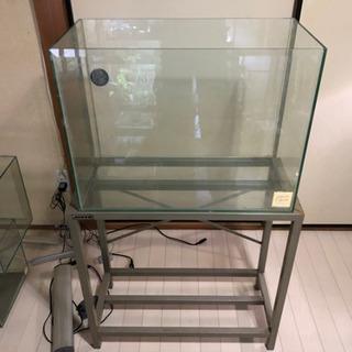 オールガラス600×300×450&水槽台付