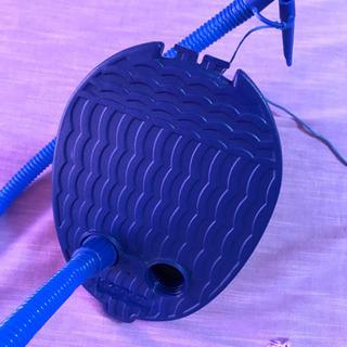 足踏み式エアーポンプ