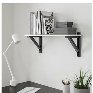 【未使用】IKEA ウォールシェルフセット モノトーン