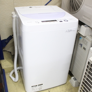 J11113)【美品!】シャープ SHARP 全自動洗濯機 ES...