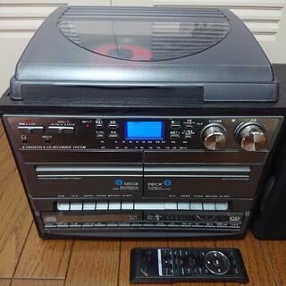 レコード、カセット、CD  マルチレコーダー