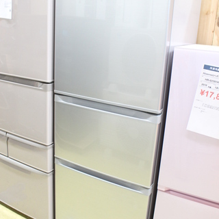 R023)東芝 TOSHIBA 3ドア 冷凍冷蔵庫 GR-G34...