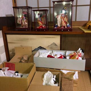 ひな人形と各種人形 自宅引取