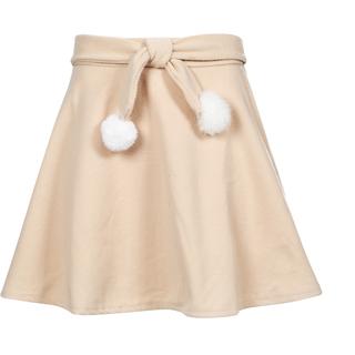 新品未使用 フレアスカート ベージュ色 Sサイズ