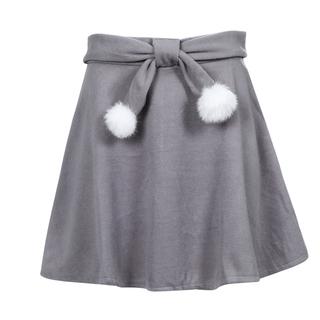 新品未使用 フレアスカート グレー色 Mサイズ
