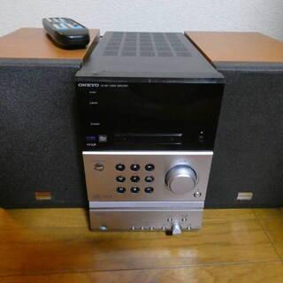ONKYO オンキョー X-B7 コンポ CDプレイヤー MDプ...