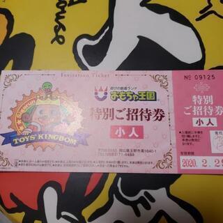 おもちゃ王国入園券