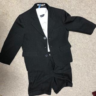 スーツ 120 七五三 入学式 卒園式 ストライプ