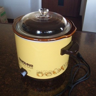 スロークッカー(電気鍋) 煮込み料理に