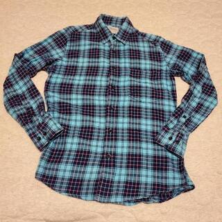 (270)チェックシャツMサイズくらい