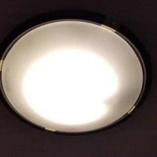 NEC 調光がお洒落なシーリングライト ブラウン ~12畳