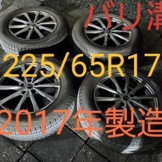 スタッドレスタイヤホイールセット 225/65R17 SUV