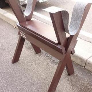 木製 サーフボードスタンド
