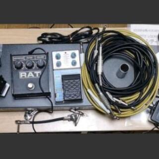 レア特価品 エフェクター類まとめ売り ギター、ベースワイヤ…