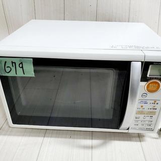 679番 SHARP✨電子レンジ💡RE-SW10-W‼️