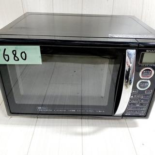 680番 SHARP✨電子レンジ💡RE-S5E-B‼️