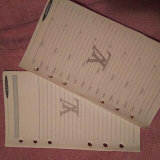 ルイヴィトン 手帳のリフィル - 熊本市