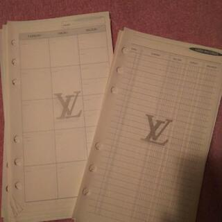 ルイヴィトン 手帳のリフィル - 生活雑貨