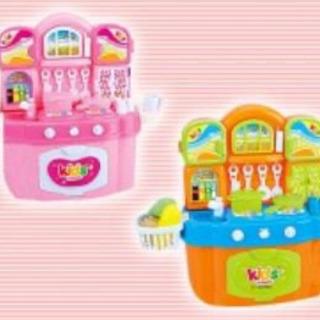ビッグサウンドキッチンセット2 ピンク