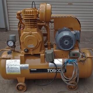 三相200V コンプレッサーSP10D‐15TS タンク容量65...