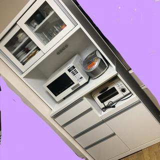 ニトリ ナフコ 21スタイル 食器棚 カップボード