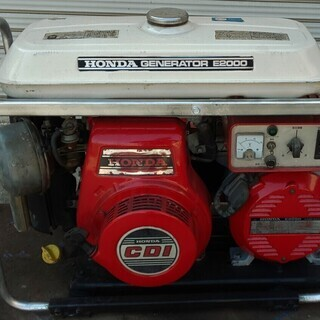ホンダ ガソリンエンジン発電機 E2000 日置市 伊集院町