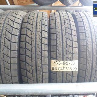 スタッドレスタイヤ 4本セット 13インチ 155/80R13 ...