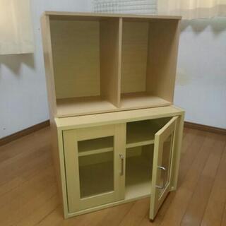食器棚・カラーボックスセット